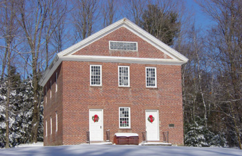 The Old Brick Meeting House at Washington Hill